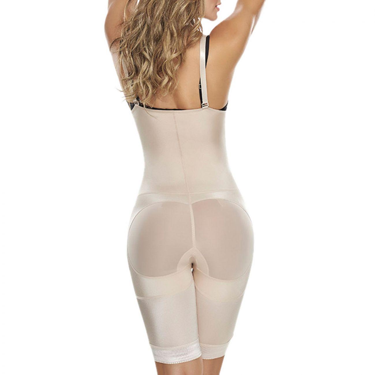 5a385fd357847 Shapewear for Women  TrueShapers 1221 Power Slimmed Mid-Thigh Body Shaper